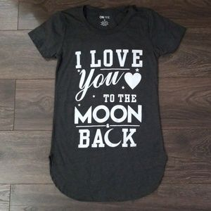 I Love You to the Moon and Back Long Tee